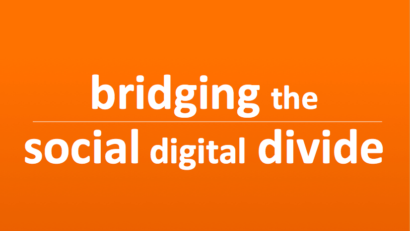 bridging the social digital divide keynote presentation