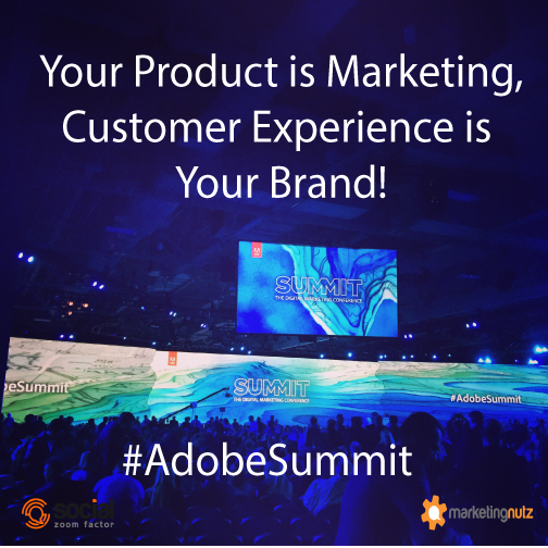 customer experience brand adobe summit