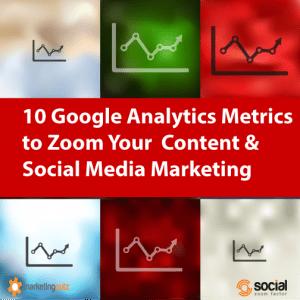Google Analytics Metrics Social Media Content and Blog