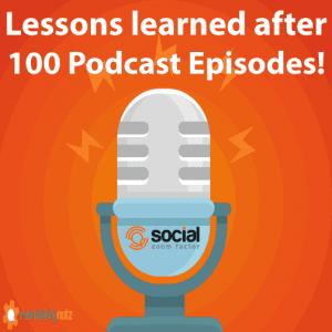 social media podcast tips