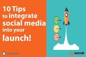 new business product launch how to integrate social media for ROI