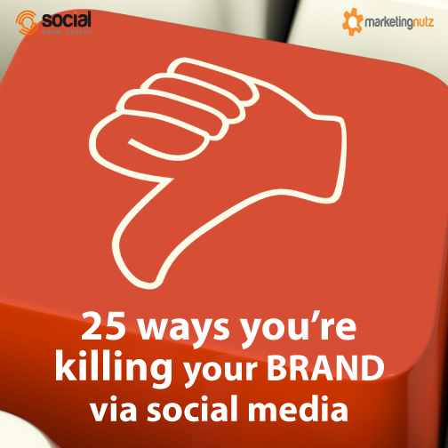 social media killing your brand bad tactics