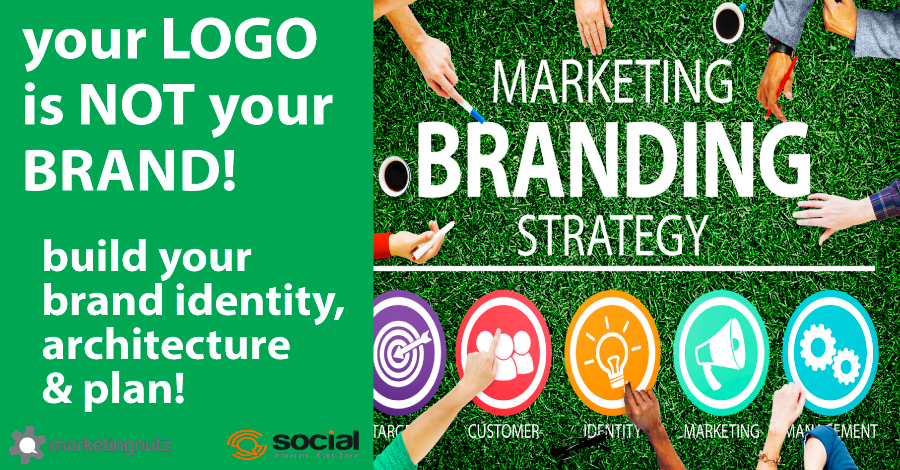 Your Logo is NOT Your Brand – Marketing Brand Strategy in a Nutshell