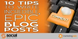 2017 social media blog plan