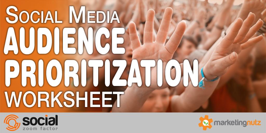 social media audience strategy worksheet