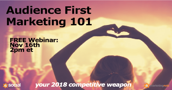 How to Create a Customer First Social Media Marketing Strategy in 2018 - FREE Webinar