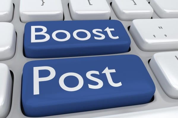 Facebook Advertising Boosted Post When to Boost post