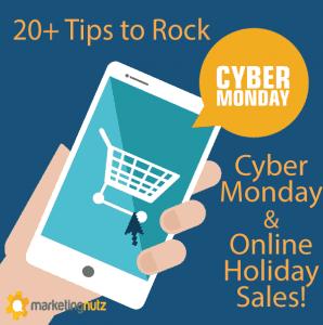 cyber monday social media marketing tips