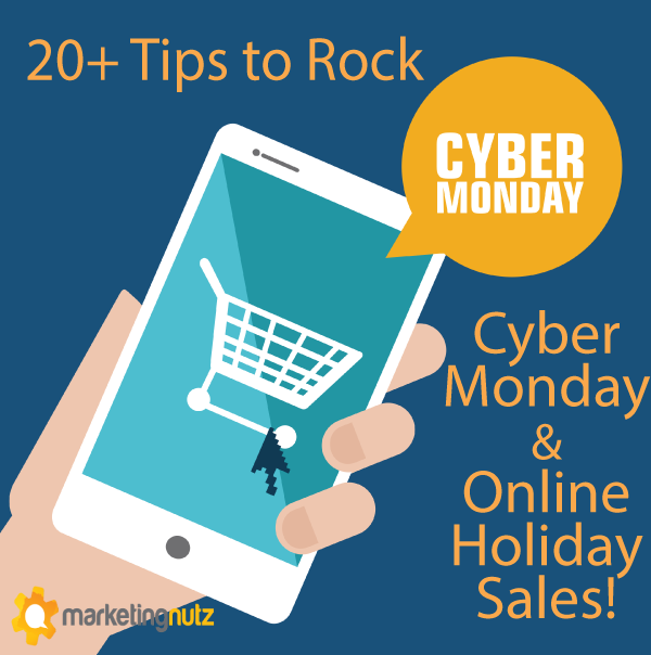 cyber monday social media marketing tips