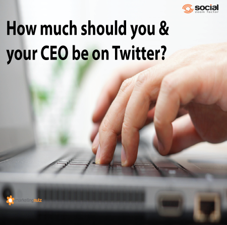 should your ceo be on twitter