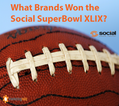 social media Super Bowl brand winners 2015