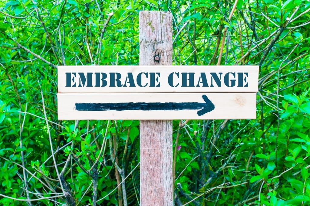 social media echo chamber embrace change