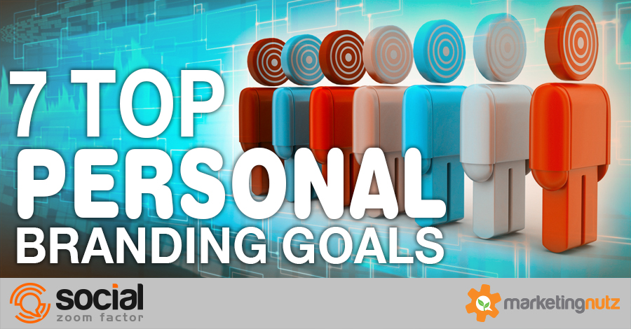 Personal Brand Social Media Strategy Goals