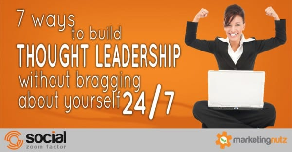 How to be a thought leader 2017