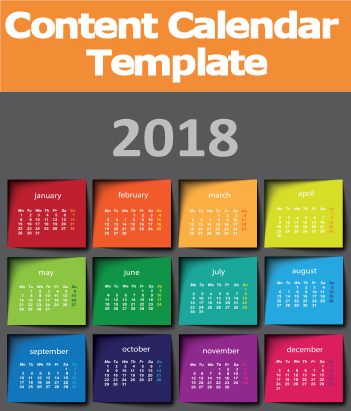 2018 content marketing calendar template trends and predictions you need to know. Black Bedroom Furniture Sets. Home Design Ideas