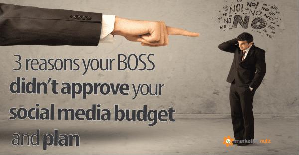 Get Social Media Digital Marketing Budget Approved