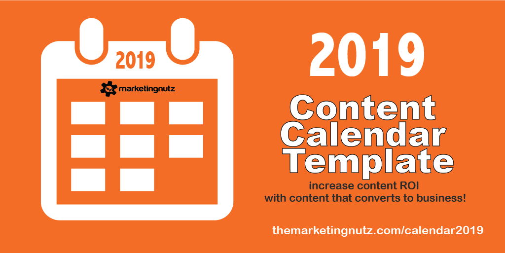 The Ultimate 2019 Social Media Content Calendar Template 10 Ways