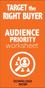 Social Media Audience Worksheet Target Market Segmentation