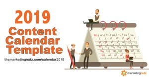 2020 Content Marketing Editorial Calendar Template