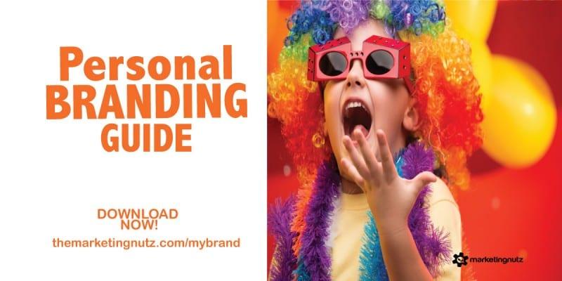 personal branding worksheet marketing nutz