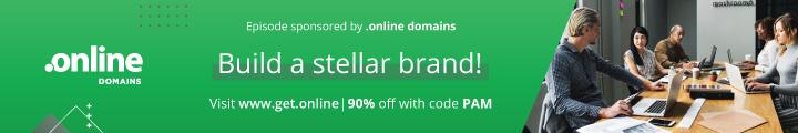 get dot online domains sponsor social zoom factor podcast