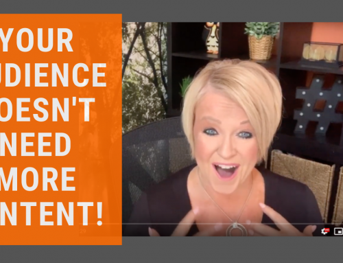 Content Marketing in 2020: Your Audience Doesn't Need More Content! [video + worksheets]