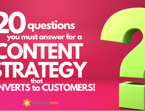 20 Questions You Must Answer Before Creating a Content Strategy [podcast + free guide]